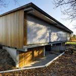 giesen bouwen Doetinchem Achterhoek houtskelet dickholz hout constructie houtbouw ecologische architect architectuur modern strak design biobased duurzaam lichtpanelen gietvloer
