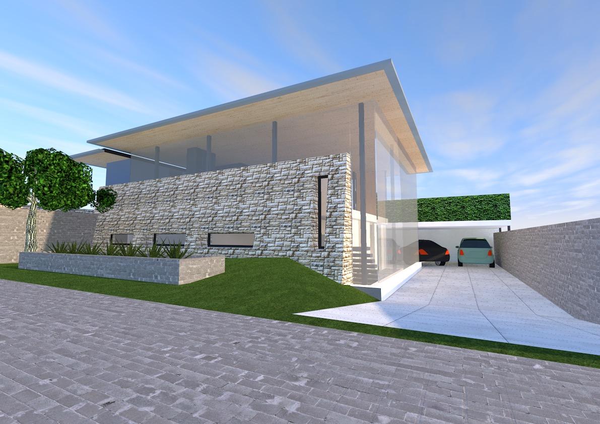 moderne bungalow glas staal natuursteen plan vijverberg doetinchem, giesen architectuur, nieuwbouw, villa, natuursteen, glas, licht, architect, achterhoek,
