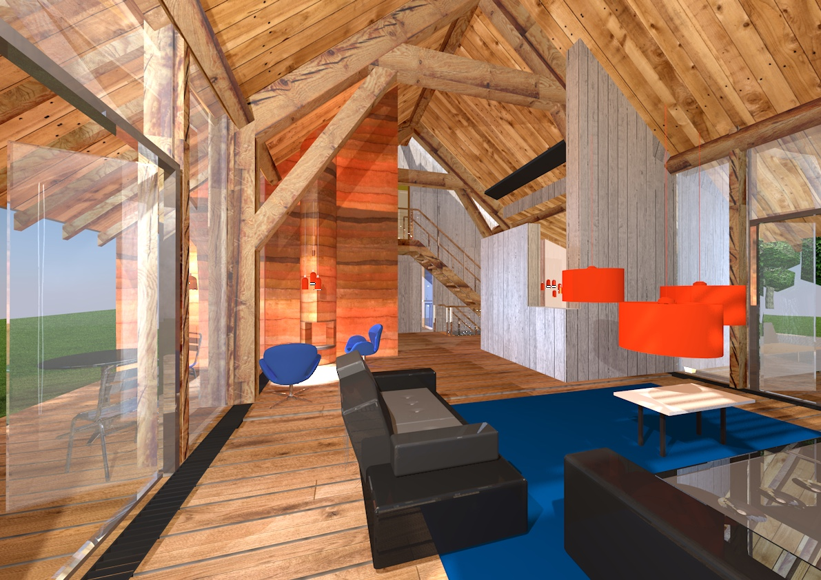 Gebintenwoning Winterswijk interieur giesen - Giesen Architecture