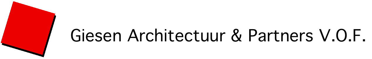 Logo + Naam Giesen Architectuur & Partners V.O.F.