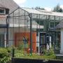 Galerie 21 te Breedenbroek, hergebruik, kas, kassenbouw, serre, aanbouw, Giesen Architectuur & partners, doetinchem, achterhoek
